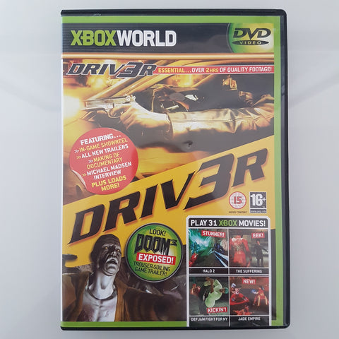 XBOX World DVD - Júlí 2004