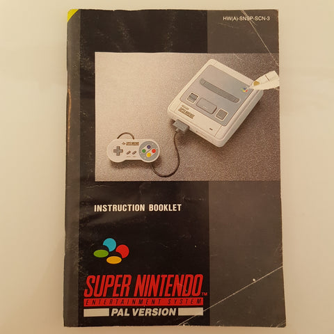 Super Nintendo Entertainment System PAL Version