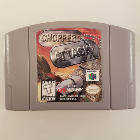 Chopper Attack (NTSC)