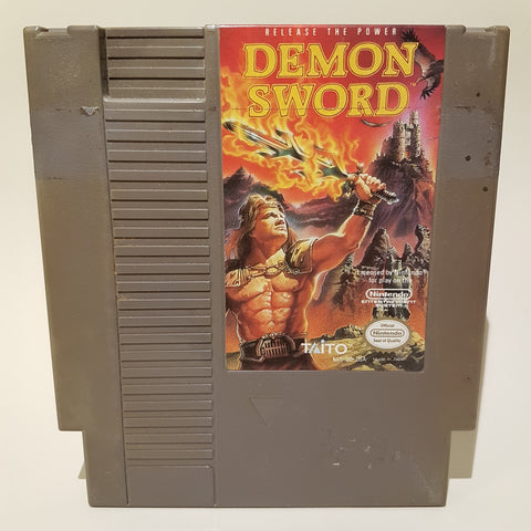 Demon Sword (NTSC)