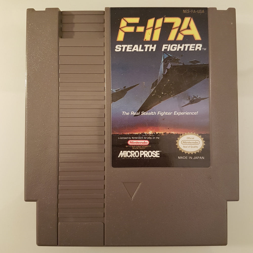 F-117A Stealth Fighter (NTSC)