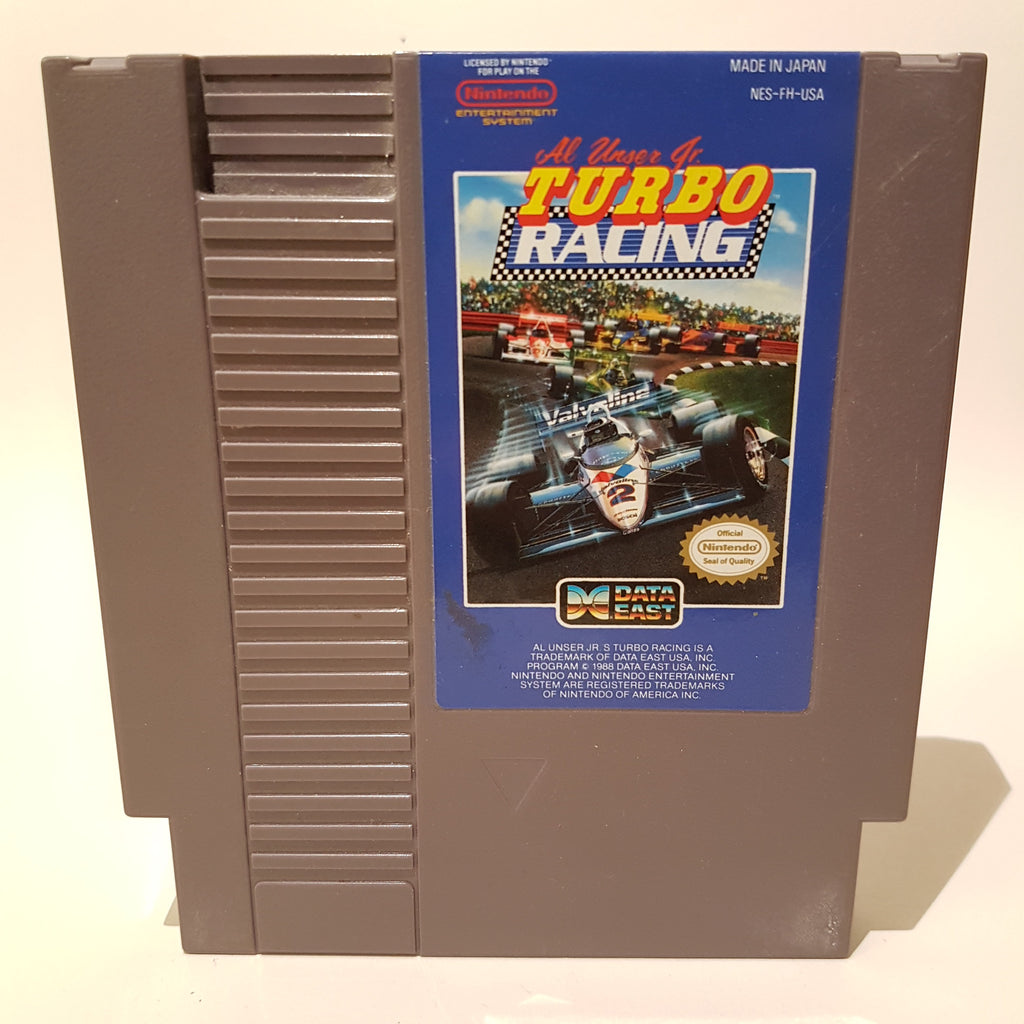 Al Unser Jr.'s Turbo Racing (NTSC)