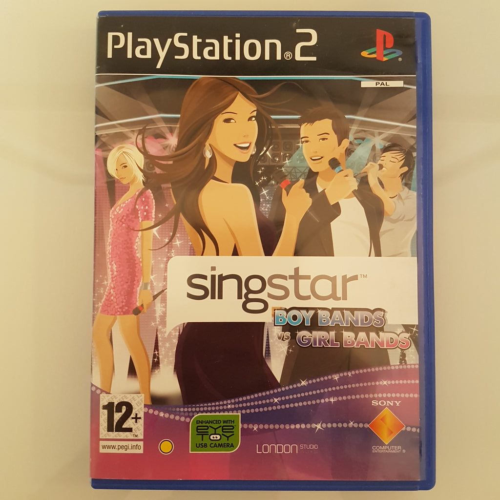 SingStar: Boy Bands Vs. Girl Bands