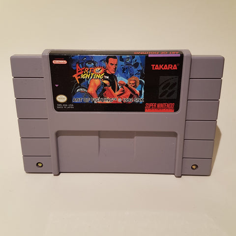 Art of Fighting (NTSC)