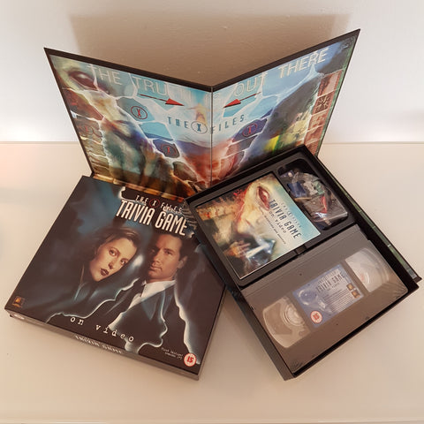 The X-Files Trivia Game on Video