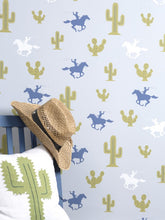 Load image into Gallery viewer, Cactus Cowboy Wallpaper