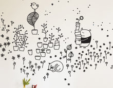 Load image into Gallery viewer, Springtime Garden Wall Stickers