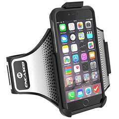 "iPhone 6 Plus Running ARMBAND & CASE Set, Encased (2016 SlimShield Edition) Tough Cover w/ SECURE-FIT Workout Band (Apple iPhone 6 Plus 5.5"")"