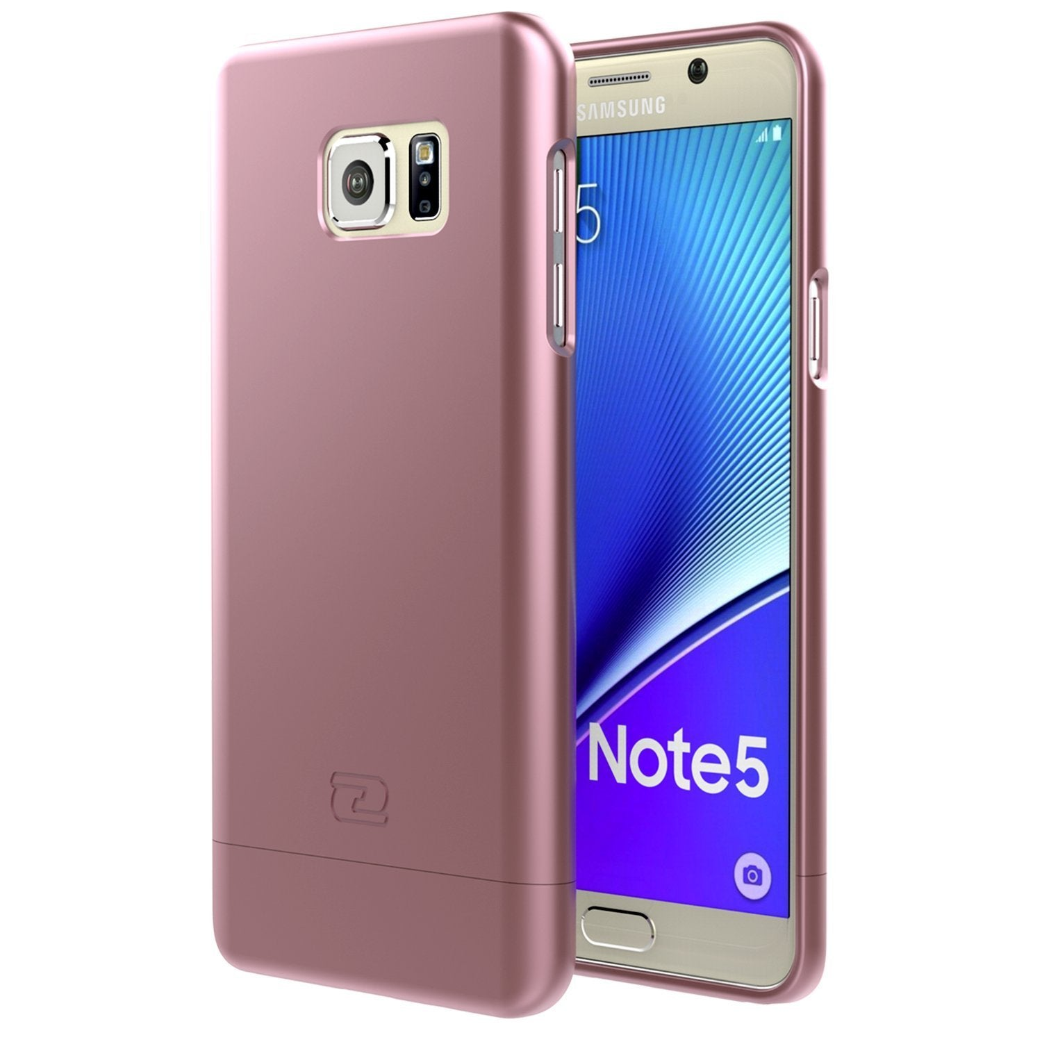 Samsung Galaxy NOTE 5 Case, Encased Ultra-thin SlimSHIELD Hybrid Shell4 Cool Colors Available)