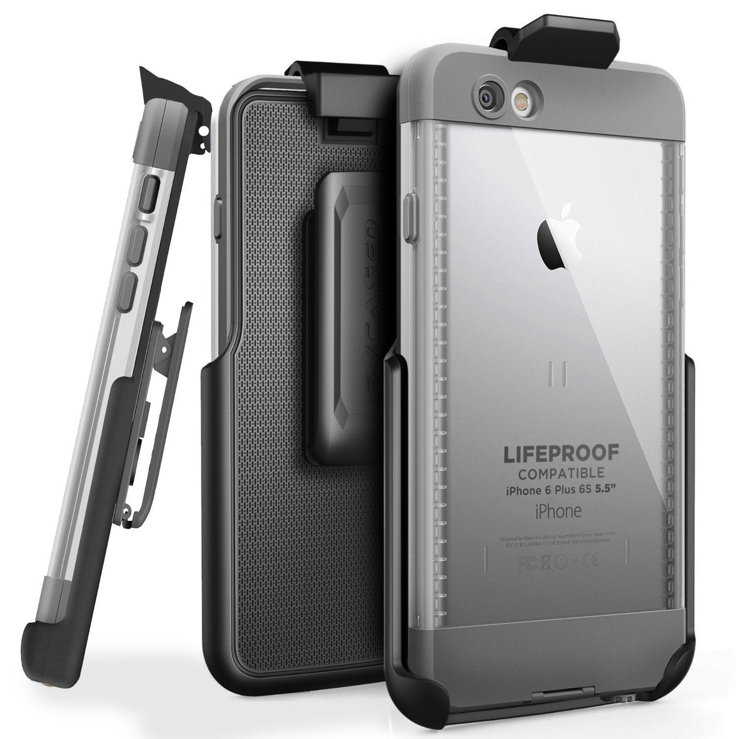 "Encased Belt Clip Holster for LifeProof NUUD Case (iPhone 6 Plus 5.5"" / iPhone 6s Plus 5.5"")"