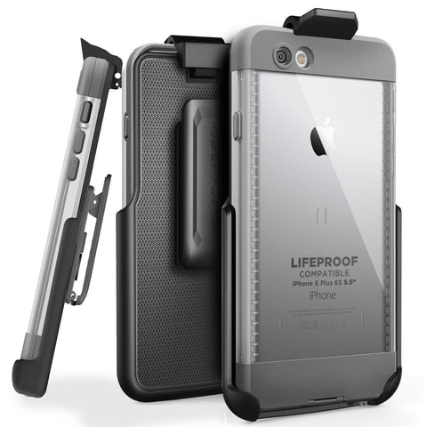Encased Belt Clip Holster for LifeProof NUUD Case (iPhone 6 Plus 5.5