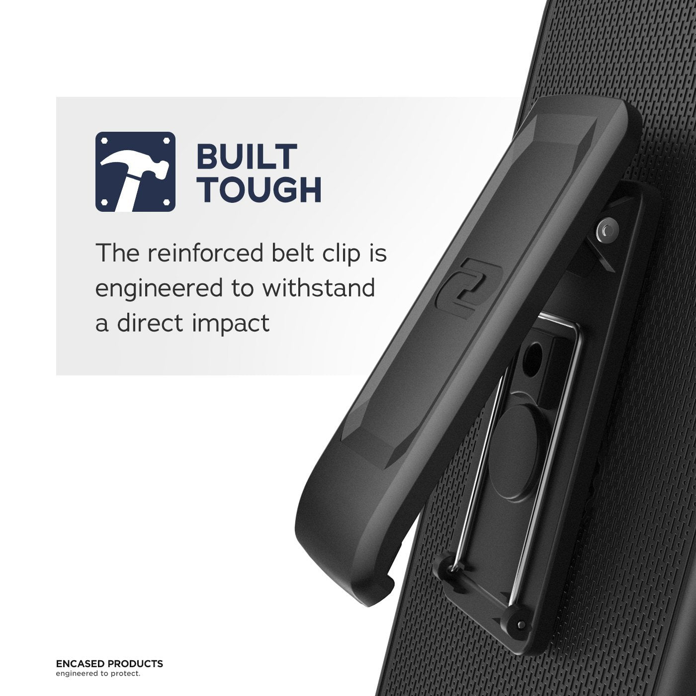 Encased Belt Clip Holster for Anker Karapax Case - Apple iPhone X (case not included)