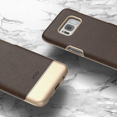 "Galaxy S8 Plus (6.2"") Premium Vegan Leather Case - Artura Collection By Encased (Samsung Galaxy S8+ 6.2"")"