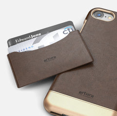 Apple iPhone 7 Premium Vegan Leather Case - Artura Collection
