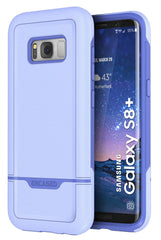 "Samsung Galaxy S8 Plus (6.2"") Case, Protective Dual Layer Impact Armor - Rebel Series By Encased"