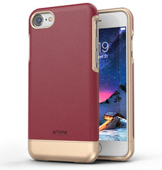 iPhone 8 Premium Vegan Leather Case - Artura Collection