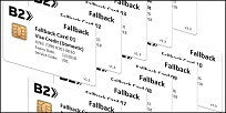 B2 Technical Fallback Test Card Set (10xCards) - Expires Soon 12/2018