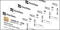 First Data DCC EMV Test Card Set (5xCards)
