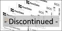 First Data DCC EMV Test Card Set (5xCards) - DISCONTINUED