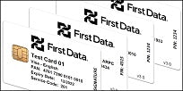 First Data EMV Test Card Set (4xCards)