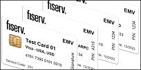 Fiserv EMV Test Card Set (4xCards)