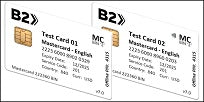 Mastercard BIN 2 EMV Card Set (2xCards)