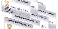 UnionPay QuickPass Test Card Set (7xCards)