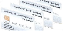 UnionPay EMV Test Card Set (4xCards)
