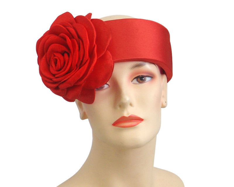 Women's Church Ring Hats in Red