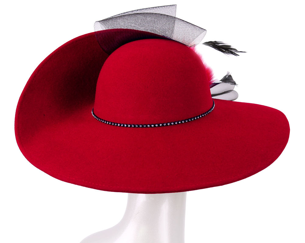 Women's Wool (Felt) Church Hats - 2394