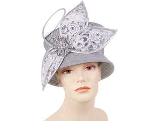 NEW - Women's Metallic Church Hats - 3050