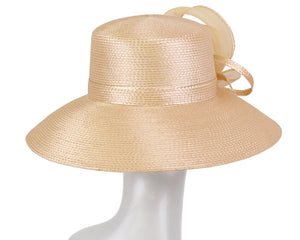 NEW - Women's Straw Derby Church Hats - 3704