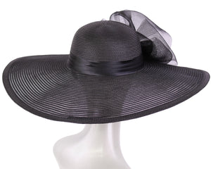 NEW - Women's Wide Brim Mesh Derby Church Hats - 4237