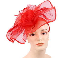 Women's Church Derby Fascinator Hats - 4344