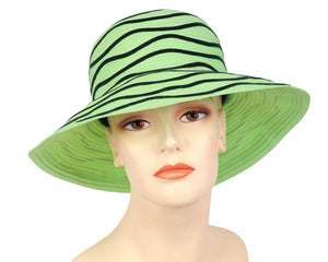 Mint Straw Church Hats for Women
