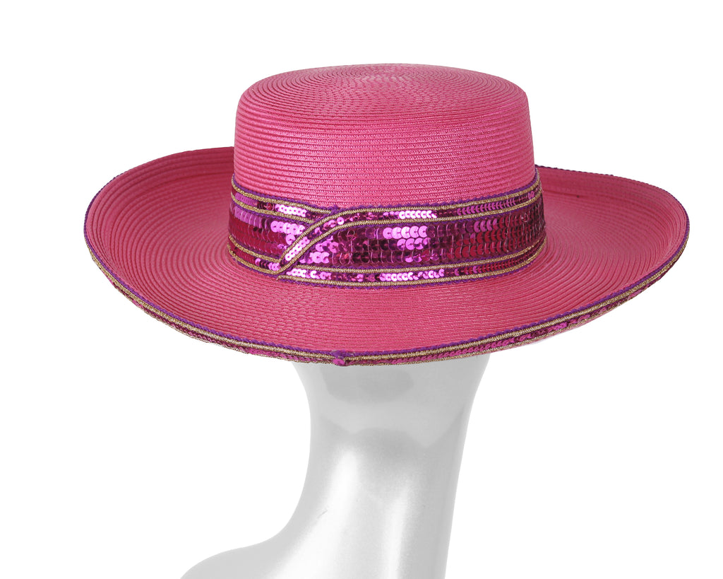 Women's Wool (Felt) Church Derby Hats - 7712