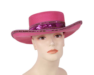 Women's Church Derby Hats - 7712