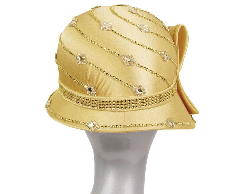 Women's Satin Church Hats - H873