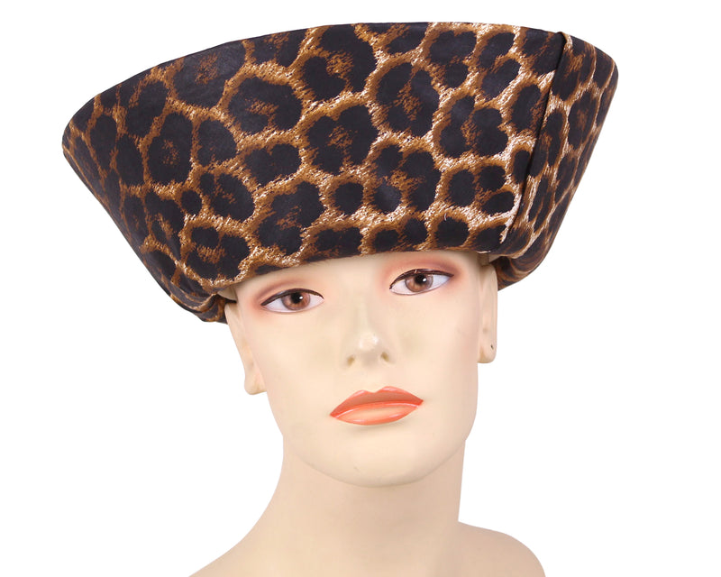 Women's Natural Straw Church Derby Hats in Natural and Black