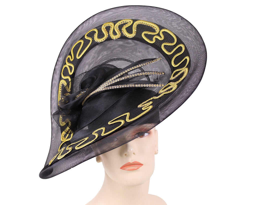 NEW - Women's Satin Formal Church Derby Hats- GP4
