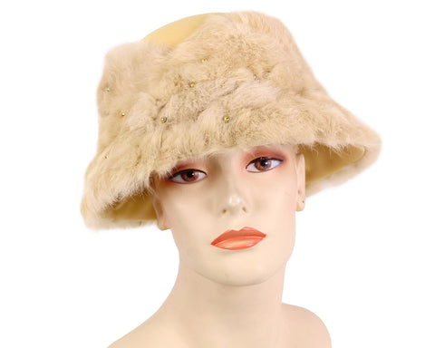 Women's Wool (Felt) Pill-box Church Hats - 7200