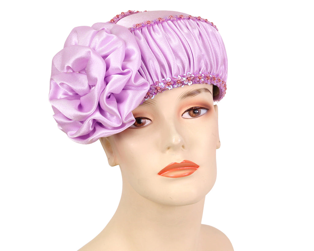 Women's Pill-box Church Hats - H246