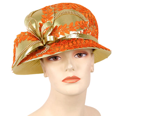 NEW-Women's Satin Formal Church Derby Hats- HL116
