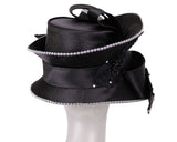 NEW-Women's Satin Church Hats - H897