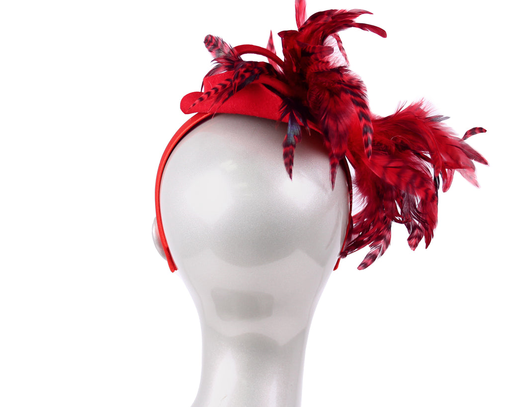Women's Wool (Felt) Fascinator - HK70