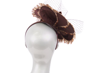 Women's Feather Church Fascinator Hats - HK82