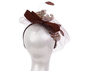 Women's Felt Church Fascinator Hats - HK84