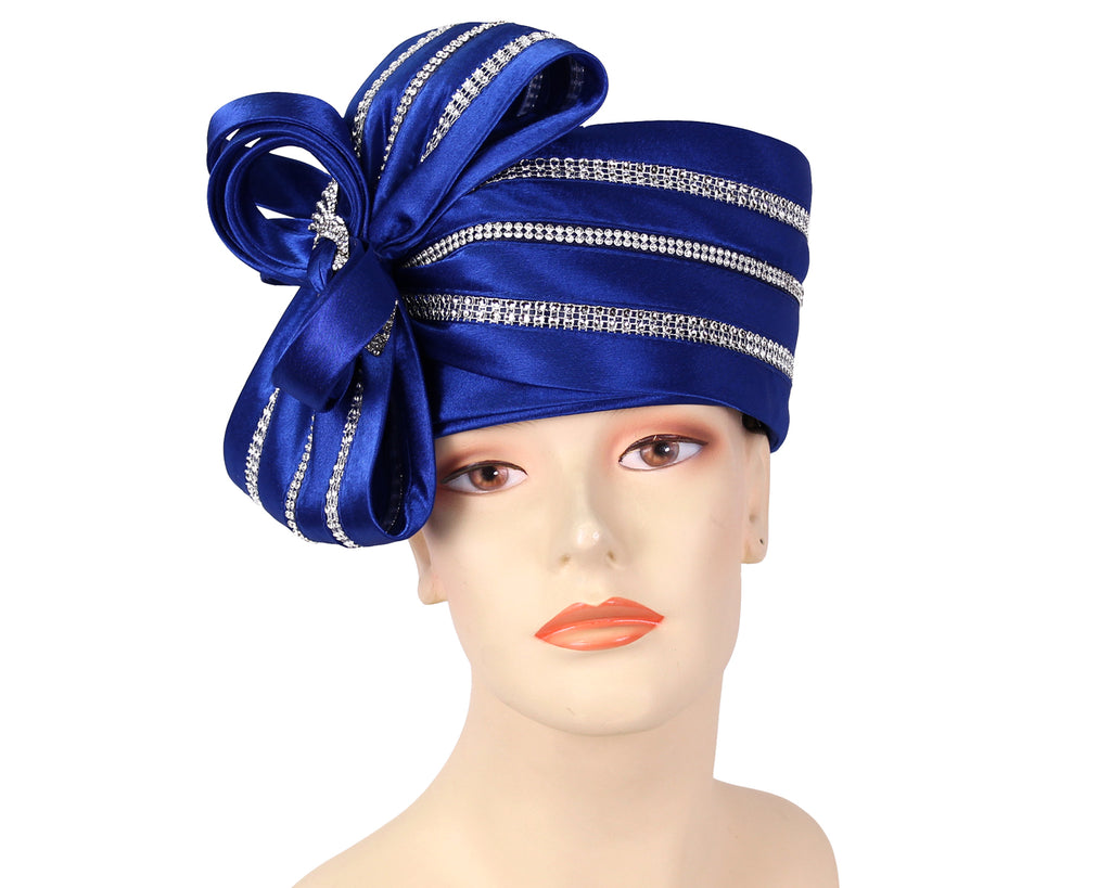 Women's Pill-box Dress Church Hats - HL011