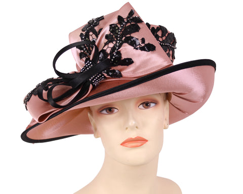 NEW-Women's Satin Fascinator Hats - HK133