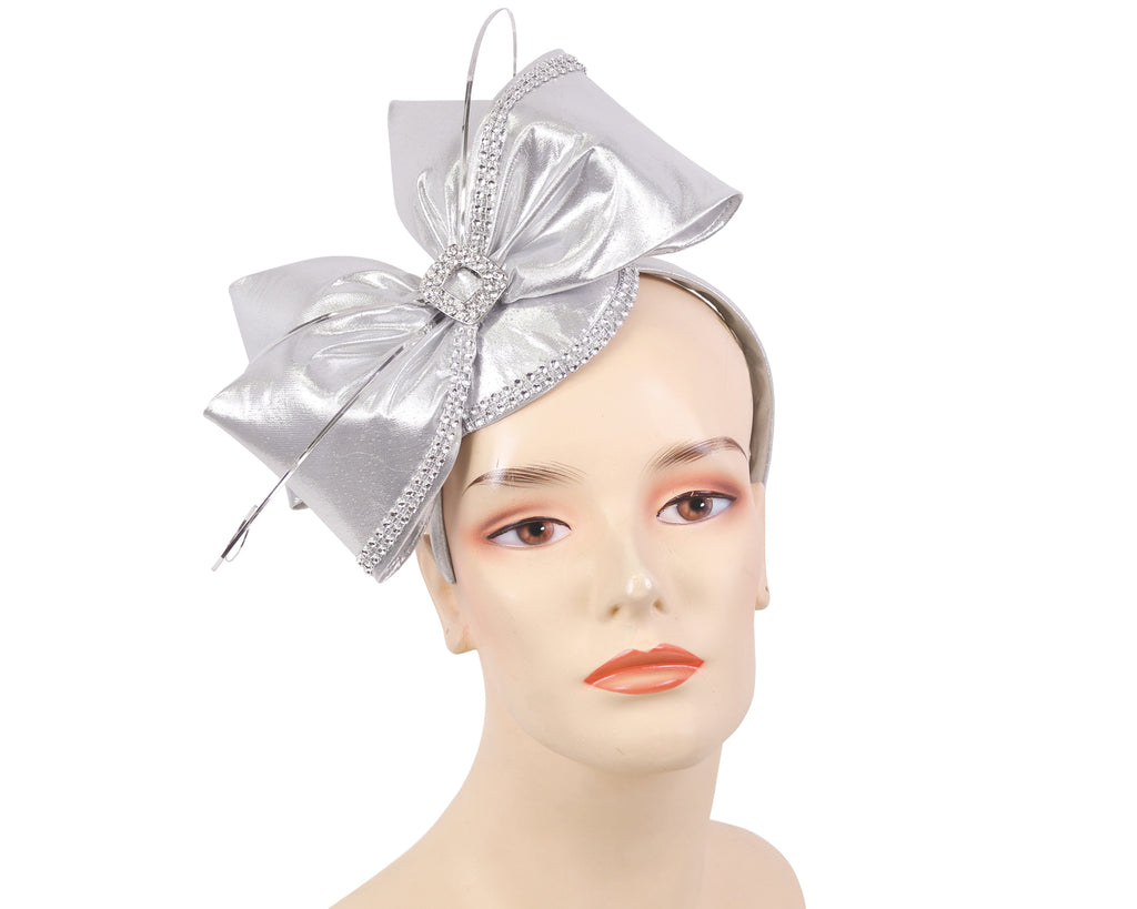 NEW-Women's Metallic Church Fascinator Hats - HL141